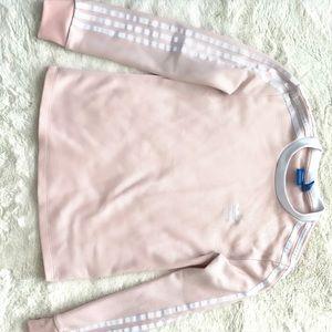 Pink Adidas Crewneck